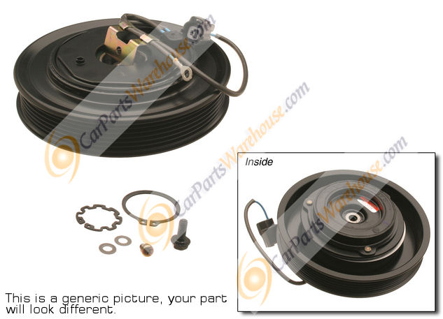Mercedes_Benz 300CD                          A/C Clutch