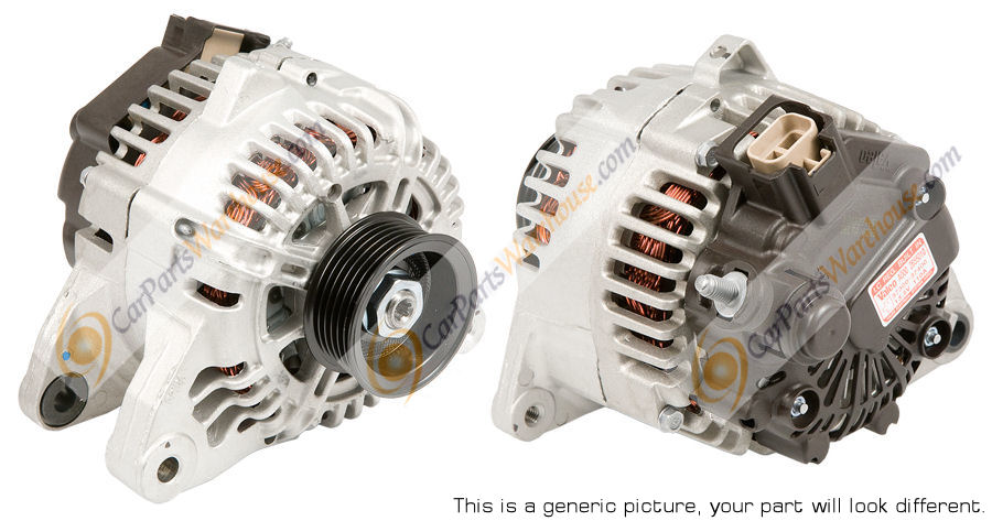 Mercedes_Benz S500                           Alternator