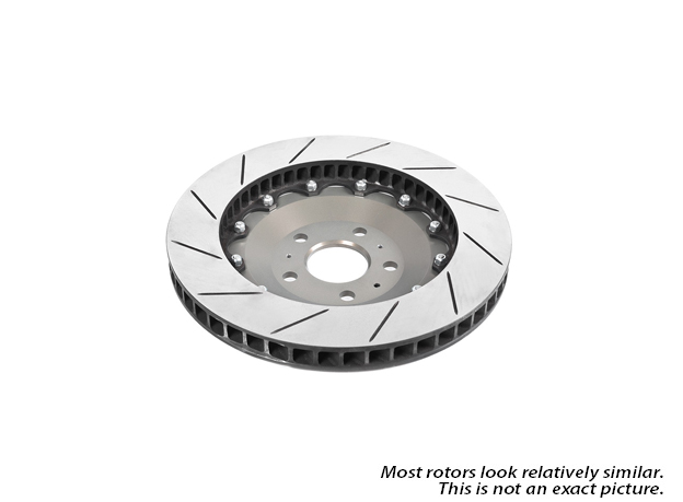Mercedes_Benz R500                           Brake Disc Rotor