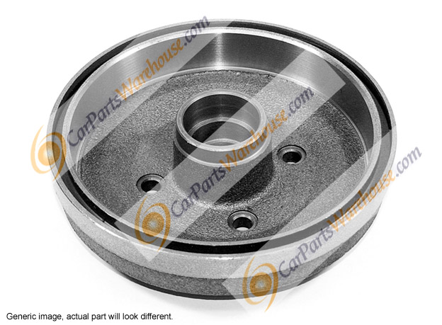 Oldsmobile Calais                         Brake Drum