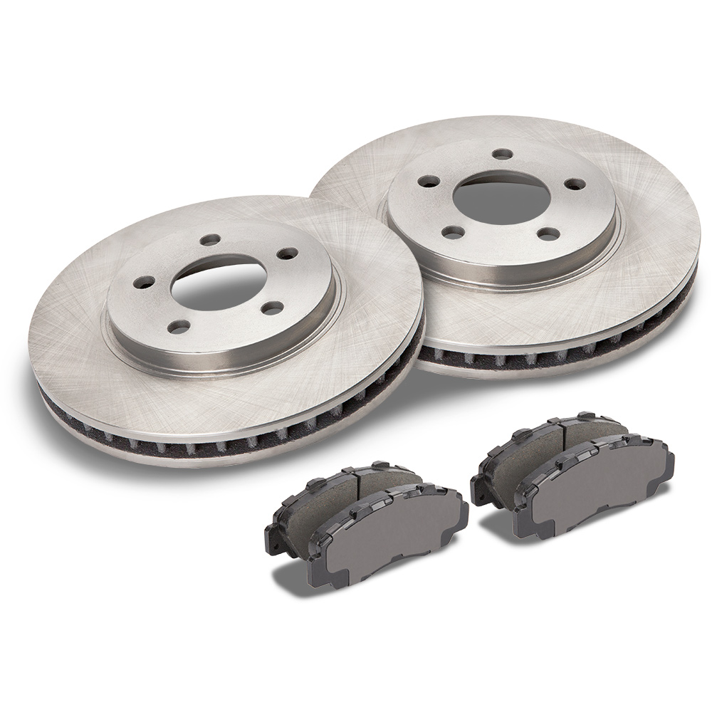 Mercedes_Benz 300D                           Brake Pad and Rotor Kit