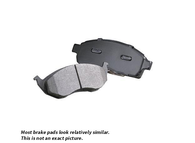 Mercedes_Benz SLK55 AMG                      Brake Pad Set