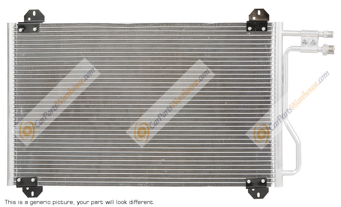 Dodge Shadow                         A/C Condenser