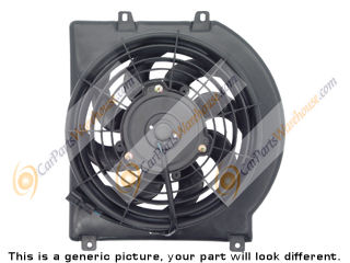 Mercedes_Benz 380SEC                         Cooling Fan Assembly