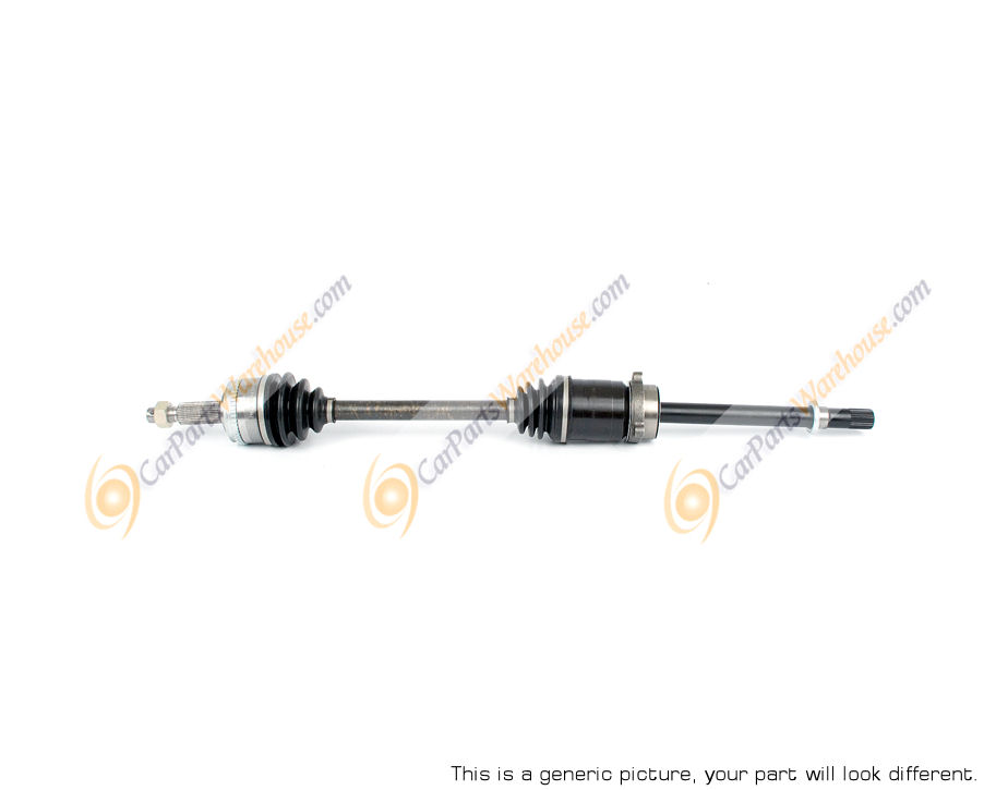 Toyota Tercel                         Drive Axle Front