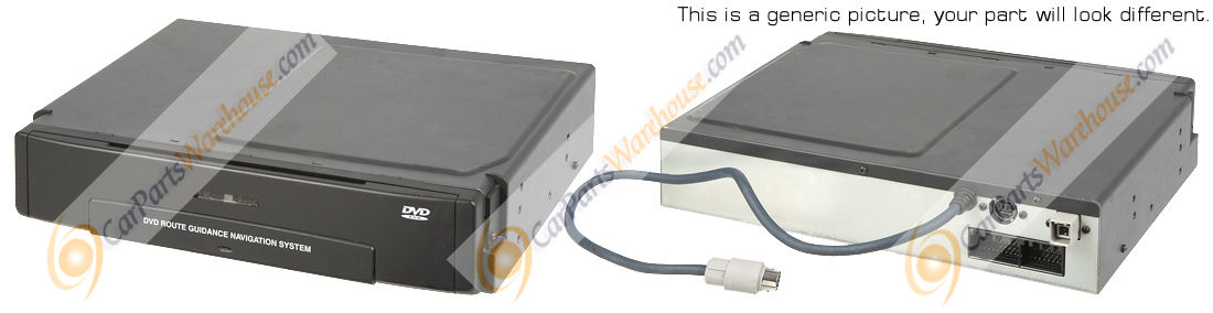 Mercedes_Benz ML350                          DVD Navigation Module