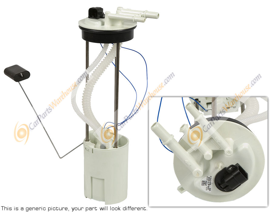 Ford Edge                           Fuel Pump Assembly