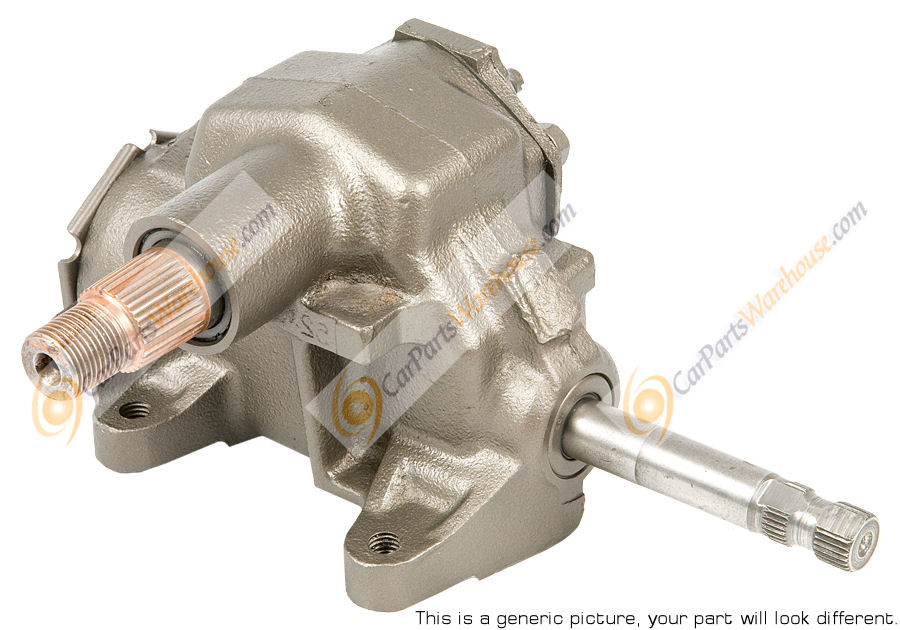 Dodge Ramcharger                     Power Steering Gear Box