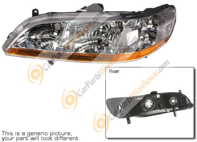 Volvo V70                            Headlight Assembly