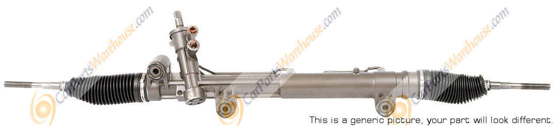 Lincoln Continental                    Power Steering Rack