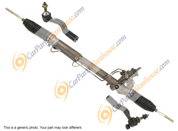 Toyota Sienna                         Power Steering Rack and Outer Tie Rod Kit