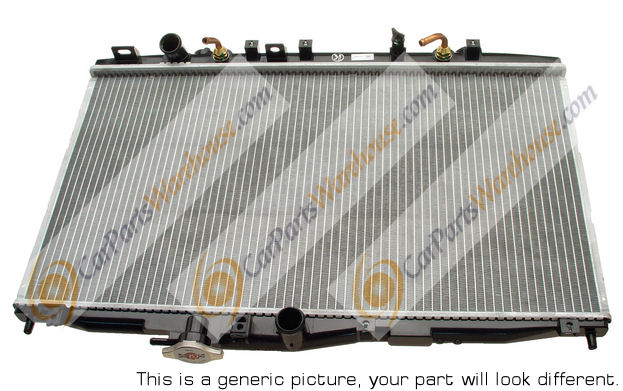 Mercedes_Benz 560SEC                         Radiator