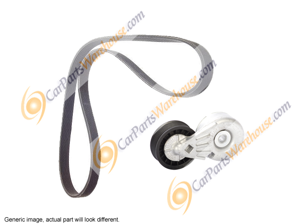 Mercedes_Benz C43 AMG                        Serpentine Belt and Tensioner Kit