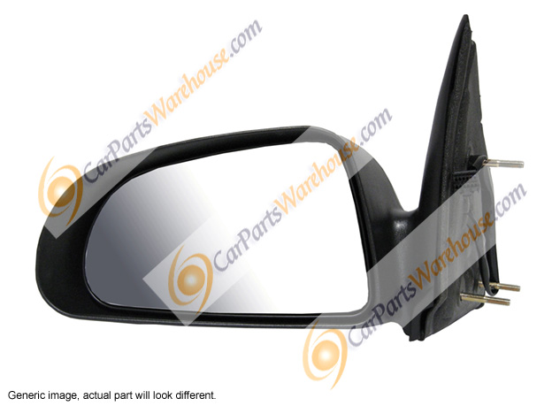Jeep Wrangler                       Side View Mirror