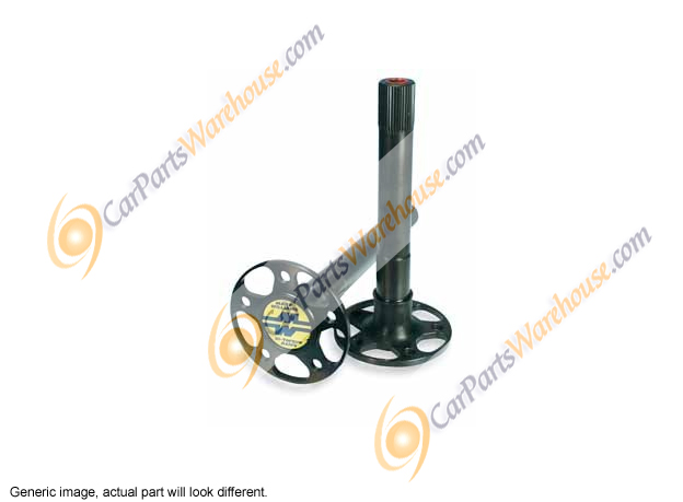 Ford Falcon                         Axles and Axle Bearings