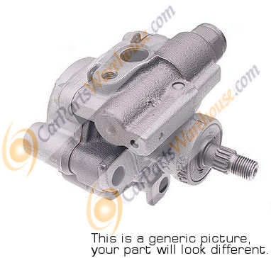 Mercedes_Benz 600SEL                         Steering Pump