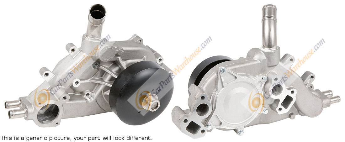 Cadillac SRX                            Water Pump