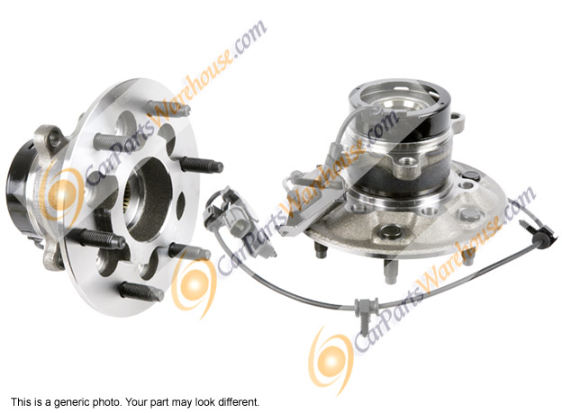 GMC Sierra                         Wheel Hub Assembly Kit