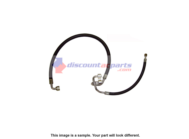 Mercedes Benz 300D AC Hose Manifold and Tube Assembly
