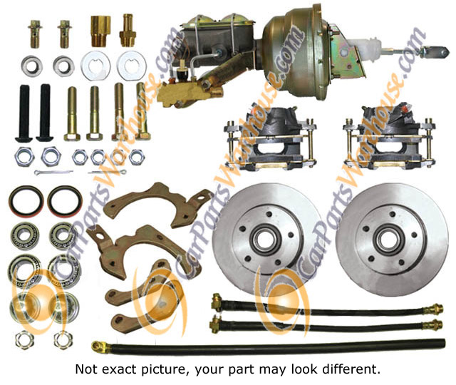 Chevrolet Nova                           Disc Brake Conversion Kit