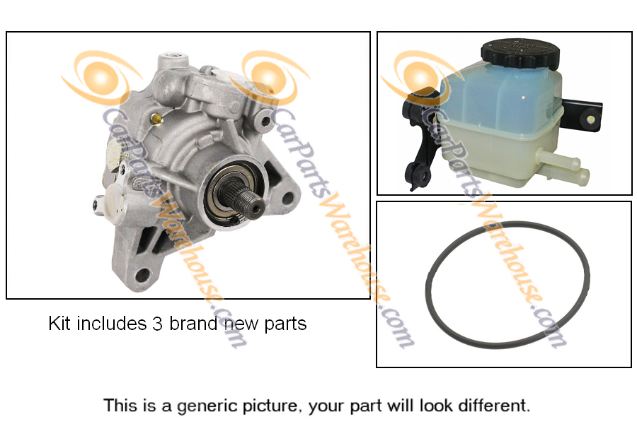 Honda Accord                         Power Steering Pump Kit