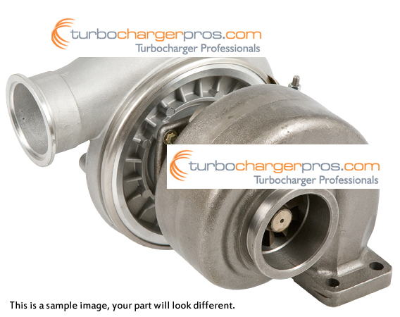 1990 International All Models Navistar DT407 Engine with BorgWarner Turbocharger Number 146718 Turbocharger