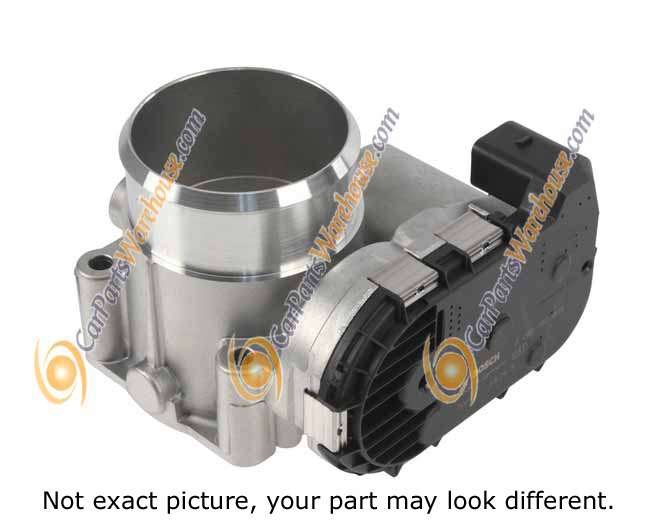 Saab 9-4X                           Throttle Body