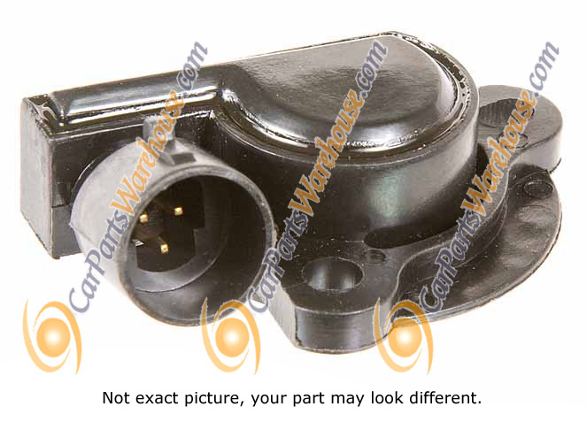 Chevrolet Celebrity                      Throttle Position SensorThrottle Position Sensor