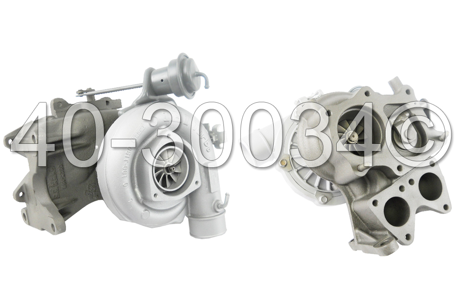 2000 GMC Sierra 6.6L Diesel Duramax LB7 Engine [Excluding Vehicles with California Emissions Standards] Turbocharger