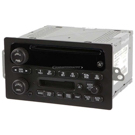 Radio-AM-FM-Cassette-Single CD Player