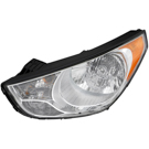 Hyundai Tucson                         Headlight Assembly