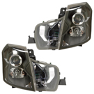 Cadillac Headlight Assembly Pair