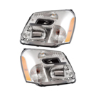 Headlight Assembly Pair
