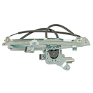 GMC Window Regulator with Motor