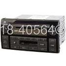 AM-FM-Cass-Single CD Radio with Face Code 16823 [OEM 86120-AA040]