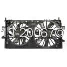 Radiator and Condenser Side - 5.3L  Models