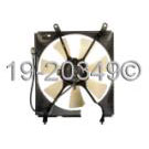 Lexus Cooling Fan Assembly