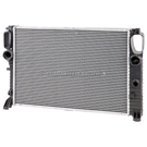 Mercedes_Benz E500                           Radiator