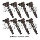 Ignition Coil Set