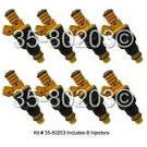 Mercury Fuel Injector Set