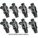Land Rover Fuel Injector Set