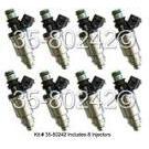 Lexus SC400                          Fuel Injector Set