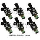 Chevrolet Malibu                         Fuel Injector SetFuel Injector Set