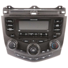 AM-FM-MP3-6 CD Radio with Face Code 7BX0 or 7BX1 [OEM 39175-SDN-A12]