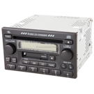 AM-FM-Cass-6CD Radio with Face Code 1TN0 or 1TN1 [OEM 39100-S9A-A200 or 39100-SCA-A200]