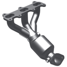 Non-California Emissions - 2.7L Models - Engine Code 8 - Rear Manifold