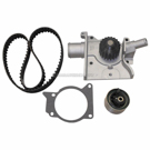 Timing Belt - Pulley and Water Pump Kit - 2.0L Engine with SOHC