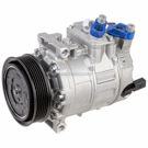 Volkswagen CC                             OEM New with ClutchA/C Compressor