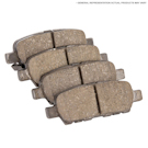 Ferrari F50                            Brake Pad Set
