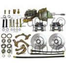 Complete Front Kit [Wheel Kit plus Booster, Master cylinder and proportioning valve ] Stock Height